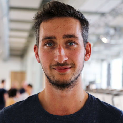BA 140 - Dave Hakkens portrait Design Academy Eindhoven
