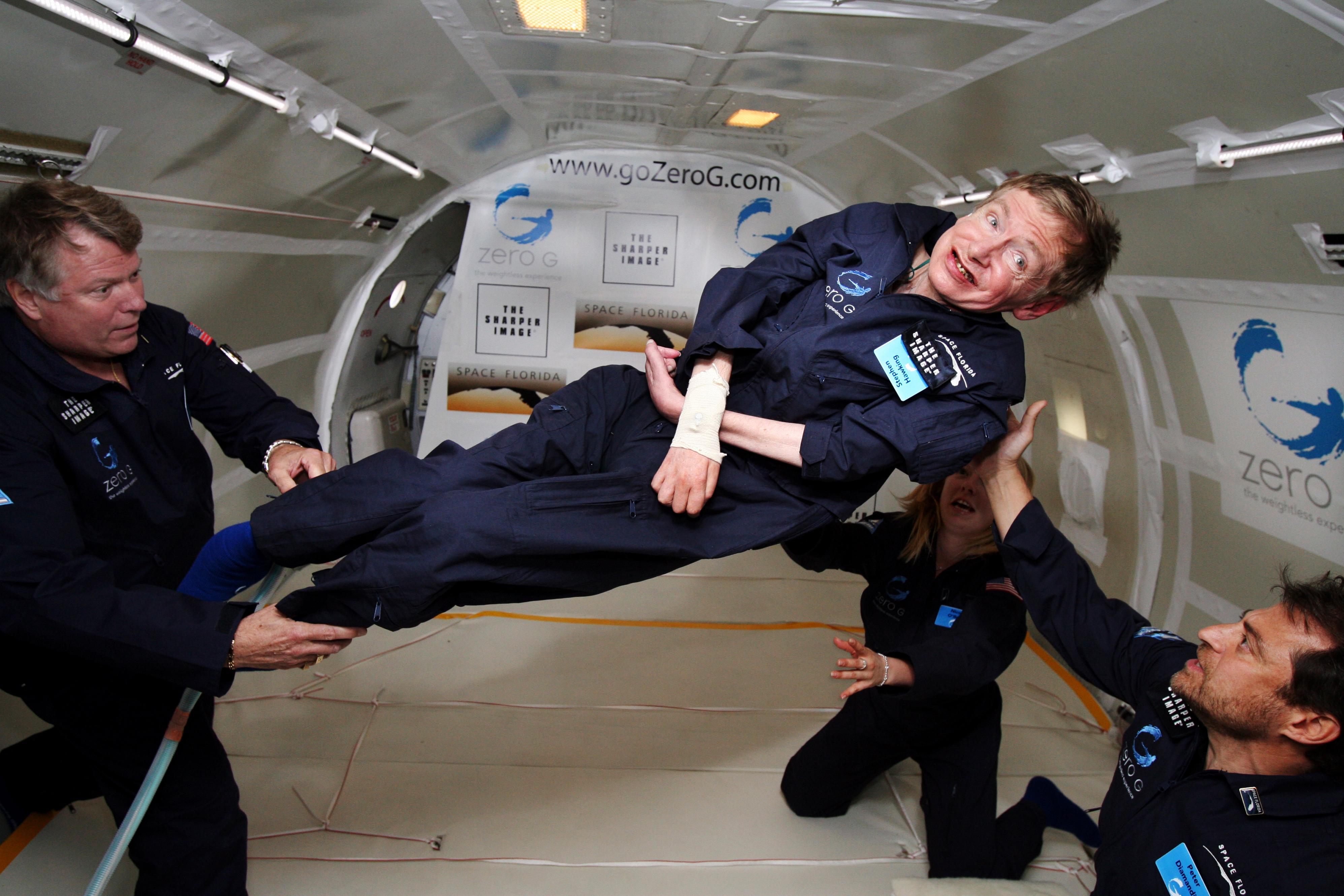BA 141 - Stephen Hawking