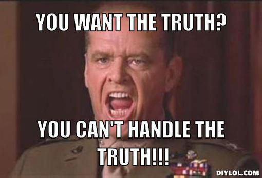 BA 225 - You cant handle the truth