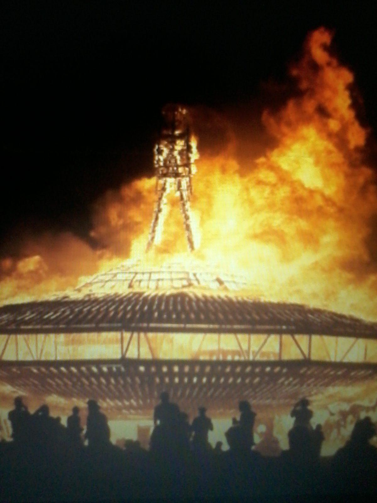 BA 227 - Burning Man