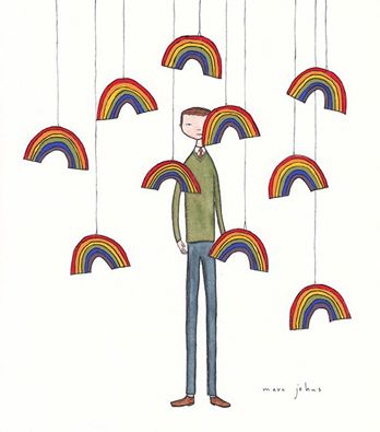 BA 228 - Collecting Rainbows Marc Johns